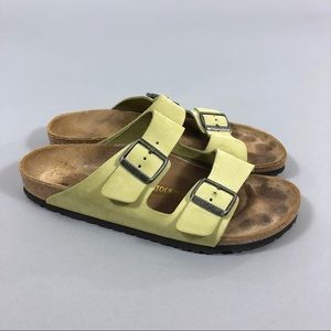 Birkenstock Arizona light green Sandals 42
